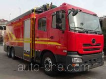 捷达消防牌SJD5250TXFBP200/RCA型泵浦消防车