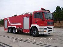捷达消防牌SJD5260GXFPM120M型泡沫消防车