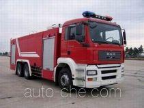 Sujie SJD5260GXFSG120M fire tank truck