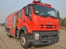 捷达消防牌SJD5270GXFPM120/WSA型泡沫消防车