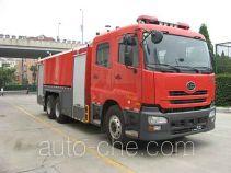 捷达消防牌SJD5270GXFPM120U型泡沫消防车