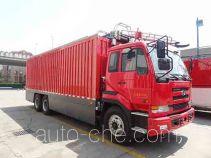 捷达消防牌SJD5270TXFDF30/U型水带敷设消防车