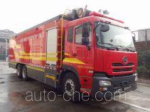 捷达消防牌SJD5271TXFDF30/U型水带敷设消防车