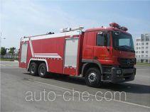 捷达消防牌SJD5300GXFPM150B型泡沫消防车