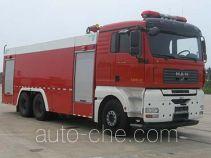捷达消防牌SJD5300GXFPM150M型泡沫消防车