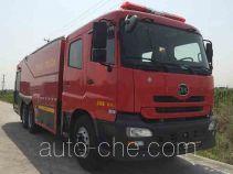 捷达消防牌SJD5300GXFPM160/U型泡沫消防车