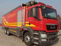 捷达消防牌SJD5300TXFDF20/MEA型水带敷设消防车
