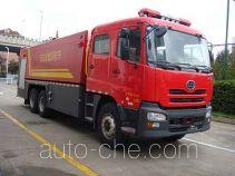 捷达消防牌SJD5310GXFPM160U型泡沫消防车
