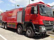 捷达消防牌SJD5371GXFPM180/B型泡沫消防车