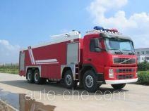 苏捷牌SJD5380GXFPM200V型泡沫消防车