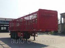 恒廉牌SJS9371CCY型仓栅式运输半挂车
