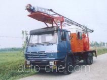 Sinopec SJ Petro SJX5160TCY well servicing rig (workover unit) truck