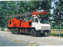 Sinopec SJ Petro SJX5200TCY well servicing rig (workover unit) truck