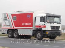 Sinopec SJ Petro SJX5250TCC oilfield equipment inspection vehicle