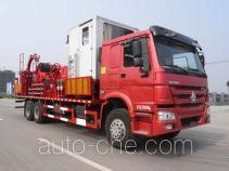 Sinopec SJ Petro SJX5250TLG coil tubing truck