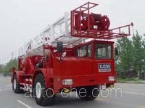 Sinopec SJ Petro SJX5260TXJ250 well-workover rig truck