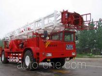 Sinopec SJ Petro SJX5280TXJ250 well-workover rig truck