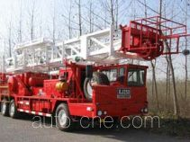 Sinopec SJ Petro SJX5290TXJ250 well-workover rig truck