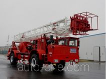Sinopec SJ Petro SJX5300TXJ250 well-workover rig truck
