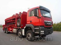 Sinopec SJ Petro SJX5310TYG fracturing manifold truck