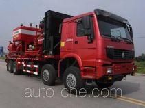Sinopec SJ Petro SJX5317TYL105 fracturing truck