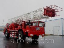 Sinopec SJ Petro SJX5320TXJ350 well-workover rig truck