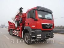 Sinopec SJ Petro SJX5321TLG coil tubing truck