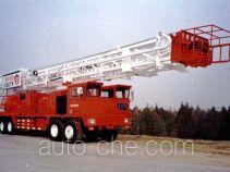 Sinopec SJ Petro SJX5350TXJ350 well-workover rig truck