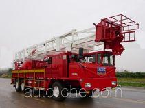 Sinopec SJ Petro SJX5352TXJ350 well-workover rig truck