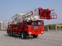 Sinopec SJ Petro SJX5353TXJ250 well-workover rig truck