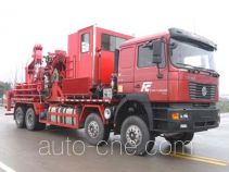Sinopec SJ Petro SJX5380TLG130 coil tubing truck