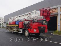 Sinopec SJ Petro SJX5381TXJ250 well-workover rig truck