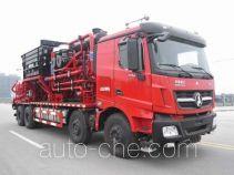 Sinopec SJ Petro SJX5383TYL105 fracturing truck