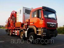 Sinopec SJ Petro SJX5400TLG230 coil tubing truck