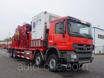 Sinopec SJ Petro SJX5420TLG coil tubing truck