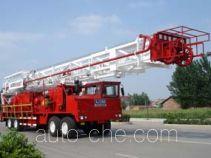 Sinopec SJ Petro SJX5420TXJ350 well-workover rig truck