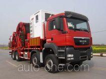 Sinopec SJ Petro SJX5430TLG290 coil tubing truck
