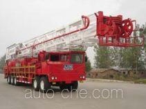 Sinopec SJ Petro SJX5460TXJ350 well-workover rig truck