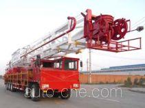 Sinopec SJ Petro SJX5461TXJ350 well-workover rig truck