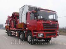 Sinopec SJ Petro SJX5480TLG coil tubing truck
