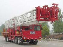 Sinopec SJ Petro SJX5490TXJ well-workover rig truck