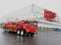 Sinopec SJ Petro SJX5510TXJ450 well-workover rig truck