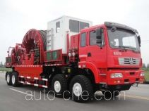 Sinopec SJ Petro SJX5540TLG coil tubing truck