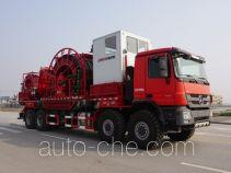 Sinopec SJ Petro SJX5550TLG coil tubing truck