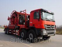 Sinopec SJ Petro SJX5551TLG coil tubing truck