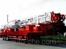 Sinopec SJ Petro SJX9500TZJ15 буровая установка на базе полуприцепа