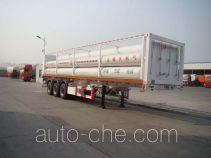 Kaiwu SKW9381GGY high pressure gas long cylinders transport trailer