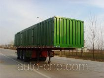 Shengrun SKW9405XXY box body van trailer