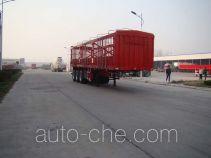 盛润牌SKW9401CCYA型仓栅式运输半挂车