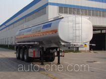 盛润牌SKW9401GFWA型腐蚀性物品罐式运输半挂车